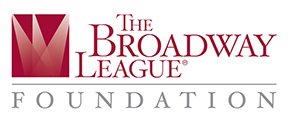 The logo of the Broadway League Foundation